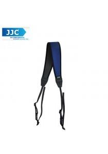 JJC NS-CB Quick Release Professional Anti-Slip Shoulder Slider Strap for DSLR Camera Belt - Blue