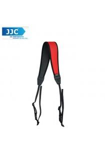 JJC NS-CR Quick Release Professional Anti-Slip Shoulder Slider Strap for DSLR Camera Belt - Red
