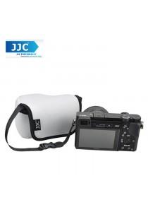 JJC OC-S1GR Neoprene Camera Case Mirrorless For Sony, Canon Camera Pouch Bag (Gray)