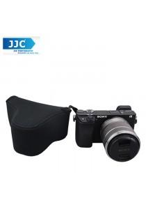 JJC OC-S2BK Neoprene Camera Case Mirrorless for Sony, Canon Camera Pouch Bag (Black)