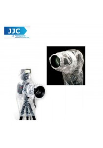 JJC RI-4C Camera Rain Cover Rain Proof Dust Protector Flash, DSLR Camera and Lens (2pcs Set)