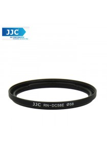 JJC RN-DC58E 58mm UV CPL Filter Thread Lens Adapter Ring For Canon PowerShot G1 X Mark II