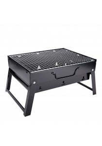 Alpha Living Portable Briefcase BBQ Grill - Black (KEA0064)