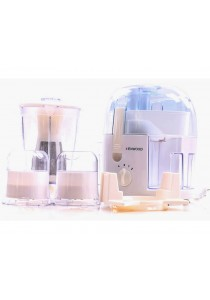 Alpha Living 500W Vita Pro-Active Juicer Food Processor Blender (KEA0113WH)