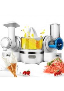 Alpha Living 3 in 1 Multi-Function Food Processor, Smoothie Maker, Juicer, Shredder and Slicer (KEA0147)