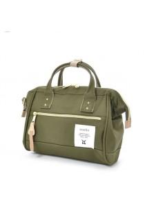 100% Authentic Anello (Mini) Polyester Shoulder Handbag - Khaki