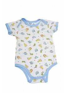 OWEN Baby Bodysuit - BOYS - ANIMAL SAFARI