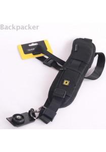 Quick Single Shoulder Sling Strap Belt for DSLR - Black