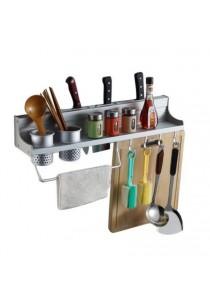 Alpha Living Aluminium Kitchen Storage Rack Knife Rest (KTN0009)