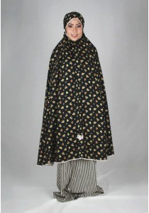 Kadza By Indrianna KZ-Cotton Series KZ-0036 (Black)
