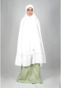 Kadza By Indrianna KZ-Cotton Series KZ-0040 (White/Green)