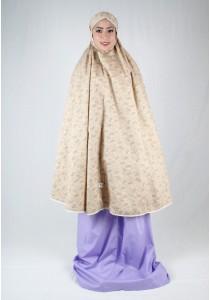 Kadza By Indrianna KZ-Cotton Series KZ-0042 (Brown/Purple)