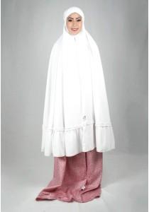 Kadza By Indrianna KZ-Cotton Series KZ-0045 (White/Pink)