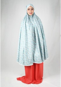Kadza By Indrianna KZ-Cotton Series KZ-0049 (Blue/Orange)