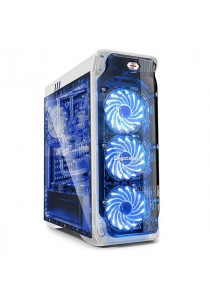 Segotep Lux Mid-Tower ATX Casing (White)