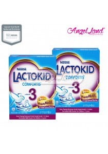 2 Units Nestle Lactokid 3 Comfortis Milk (1-3years) 650g