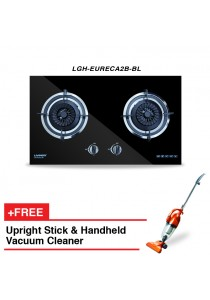 Livinox Built-In Hob LGH-EURECA2B-BL + FREE HETCH Upright Stick & Handheld Vacuum Cleaner