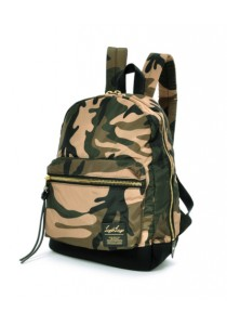 Anello x Legato High Quality Nylon Backpack (Camo Dark Khaki)