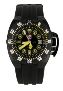 LuminoxLM1526 Scott Cassell Specials Analog Display Swiss Automatic Black Men's Watch