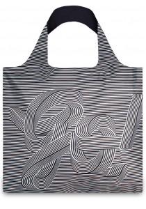 LOQI Type Hype Bag - Go Go Go Sagmeister & Walsh