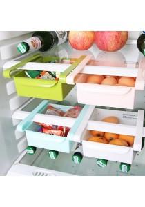Alpha Living Freezer Space Saver Sliding Organizer Rack Set of 4 Pieces - Random Colour (LRA0049)