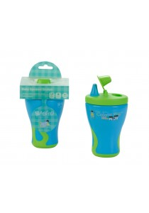 Babito Baby Spout Training Drinking Cup Step 1 (Blue)