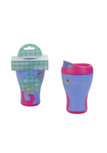 Babito Baby Sipper Training Cup Step 3 (Purple Pink)