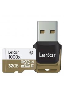 Lexar Professional 32GB 1000x 150MB/s microSDXC UHS-II Memory Card