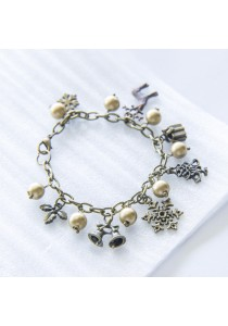 Last Christmas Charm Vintage Bracelet