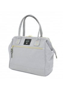 100% Authentic Anello Polyester Handbag Light Grey