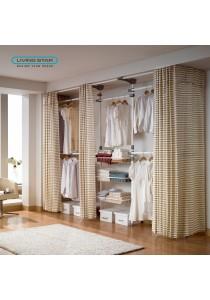 Living Star Flexible Wardrobe 5 Tiers Dress Room: LS-3675
