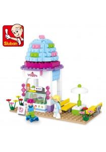 Sluban Ice Cream Shop M38-B0525 Lego Competible Building Blocks