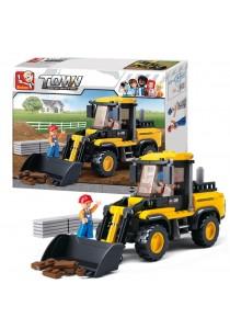 Sluban Construction M38-B0538  Forklift Truck 212 pieces Building Blocks Set