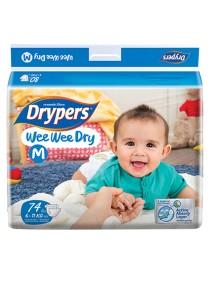 Wee Wee Drypers Diaper M74