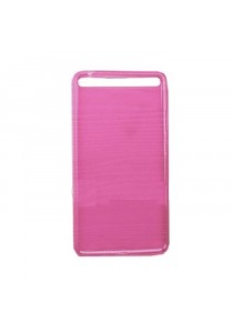 Lenovo Phab Plus 770M Back Cover Case With Screen Protector - Pink