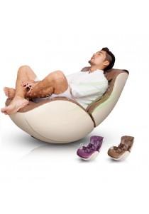 Idea Swinging Leisure Massage Sofa (Brown)