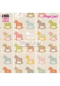 Coby Haus – Parklon PE Fold Mat : Wooden Pony Design
