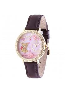 Korea Mini Watch MN2000 (Brown)