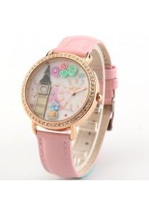 Korea Mini Watch MN2007 (Pink)