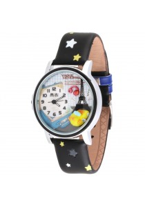 Korea Mini Watch MN955 (Black)