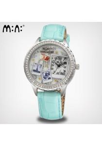 Korea Mini Watch MN993 (Blue)