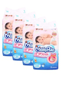 MamyPoko Open Air Fit Tape Diapers L54 (4 packs)