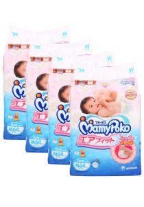 MamyPoko Open Air Fit  Tape Diapers M64  (4 packs)