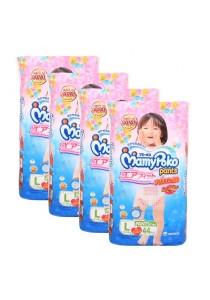 MamyPoko Pants Air Fit Girl L44 (4 packs)