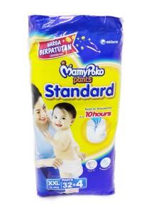 MamyPoko Pants Standard Super Jumbo XXL 32 + 4