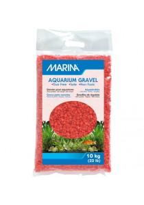 Marina Orange Decorative Aquarium Gravel - 10 kg (22 lb)