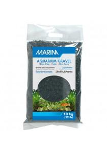 Marina Black Decorative Aquarium Gravel - 10 kg (22 lbs)