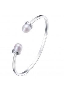 La Vista Freshwater Pearls Cuff Bangle