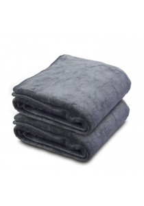 Essina Ultra Soft Microfiber Bath Towel 70x140 - 2pcs/set (GREY)