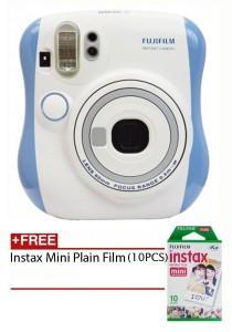 Fujifilm Instax Mini 25 Blue + Plain Film 10pcs (Official Fujifilm Malaysia Warranty)